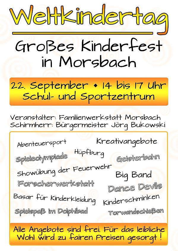 Photo of Großes Kinderfest zum Weltkindertag
