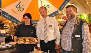 CJD Gummersbach unterstützt Supermarkt Toom beim Markenfestival