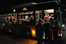 Linie 301 - heute Morgen 6:30 Uhr - voller Bus in Pernze - die Wirtschaftlichkeit beim Schülerverkehr sollte gewährleistet sein. Foto: Sven-Oliver Rüsche