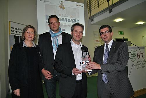 Photo of Junges Unternehmen prämiert: De-Energie erhält H!Po-Award im GTC