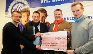 Handballfriends spenden 5.000 Euro an VfL-Akademie