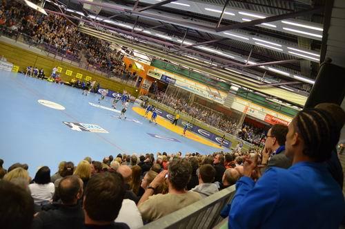 Fast 2000 Zuschauer sahen das Spiel