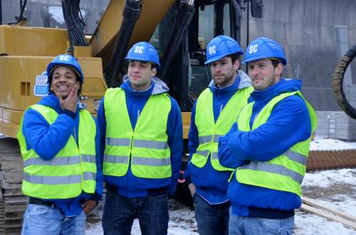 Das neue Bauteam