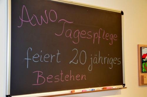 AWO Tagespflegehaus feiert 20. Geburtstag - Fotos : Uwe Schlegelmilch
