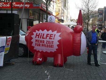 Photo of Aktionstag: Hilfe! Mehr Zeit für Pflege