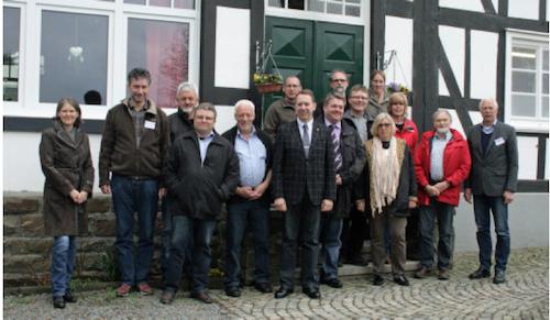 Teilnehmende der 3. Zukunftswerkstatt Dorf - Foto: OBK