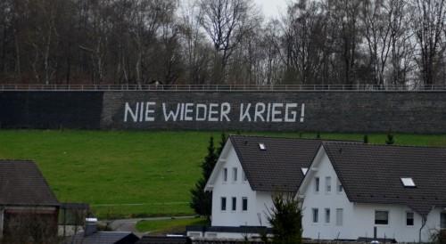 Hitlermauer Waldbröl - Bilder : Uwe Schlegelmilch