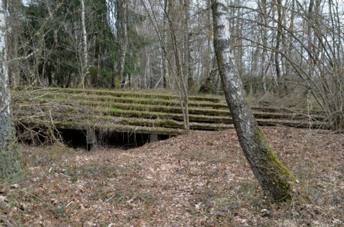 Treppenreste der Adolf Hitler Schule