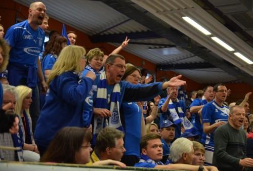 Aufgebrachte VfL Fans