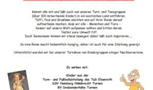 Affen stark & Löwen schlau – Kinderturn Show