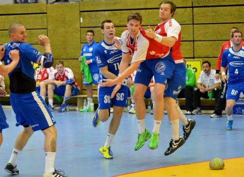 So ein Handball der muss was aushalten können