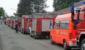 60 Oberberger in Sachsen-Anhalt im Einsatz