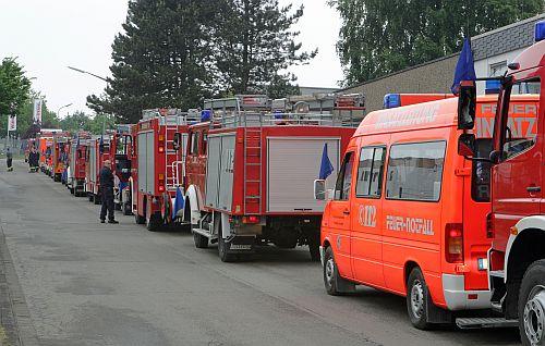 Photo of 60 Oberberger in Sachsen-Anhalt im Einsatz