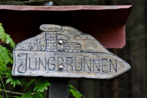 Jungbrunnen am Wegesrand
