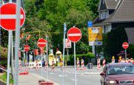 Hückeswagen: Sperrung der Durchfahrt zwischen Aldi und Bahnhofsplatz