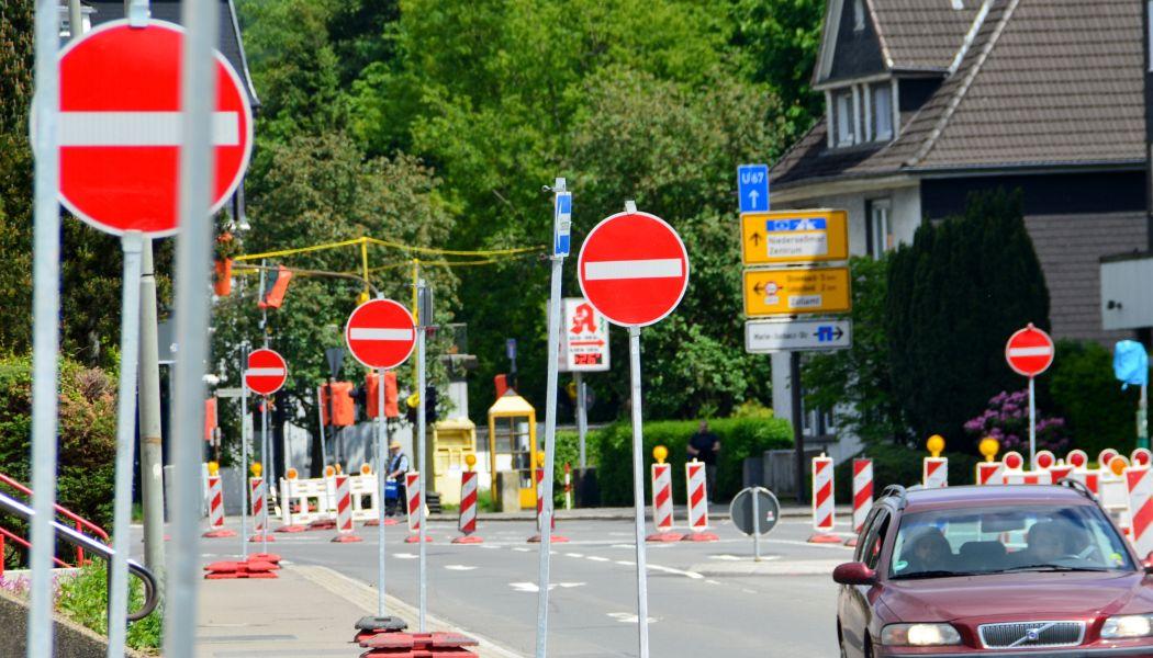 Photo of Bauarbeiten in der Kleinbernberger Straße