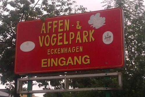 Photo of Besuch im Affen- und Vogelpark Eckenhagen
