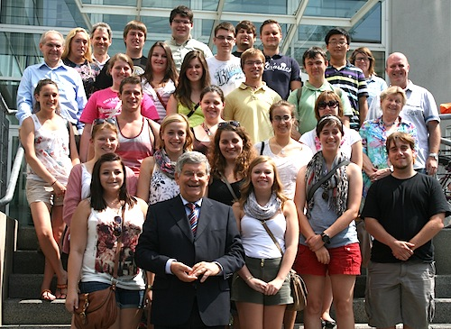 Die Teilnehmenden des Föderationsjugendlagers (Foto:OBK)