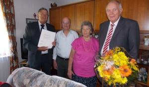 Diamantene Hochzeit in Bergneustadt: Fritz und Waltraud Lau