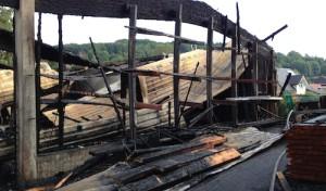 Glück im Unglück: Gummersbacher Wehr konnte Brand-Katastrophe verhindern