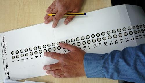 Photo of Kostenlose Wahlhilfen für blinde Wähler