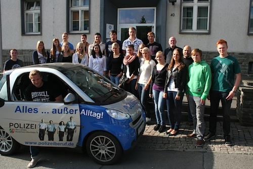 Photo of 25 Oberberger starten Ausbildung zum Polizisten