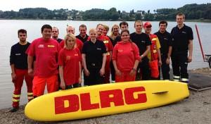 DLRG und Malteser schoben Dienst an der Brucher