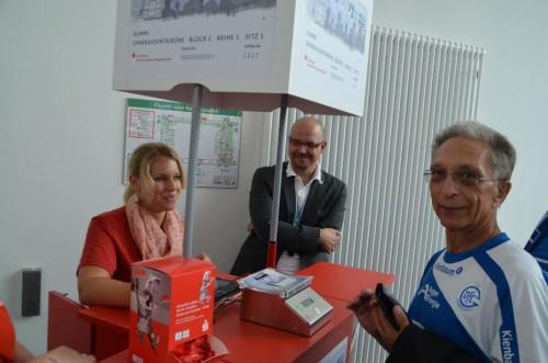Das VfL Fan Card System bestand die Generalprobe