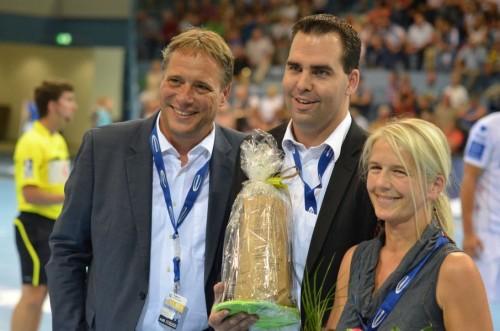 Christian krings und Claudia fischer wurden verabschiedet