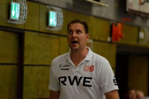 Essens Trainer Marc Dragunski ärgerte sich mehrfach über Scheidsrichter Entscheidungen