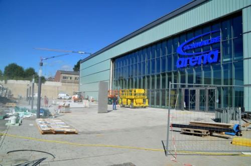 Baustelle Schwalbe Arena / Text und Bilder : Uwe Schlegelmilch