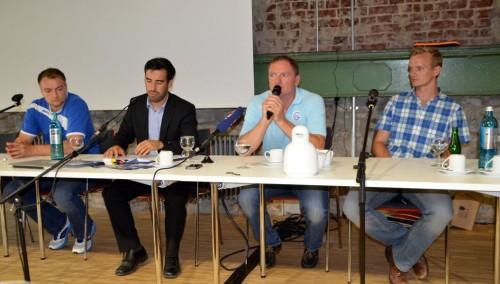Pressekonferenz der Handballakademie