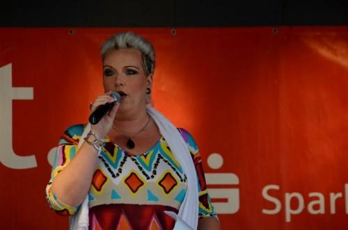 Sängerin und Entertainerin Wanda Key