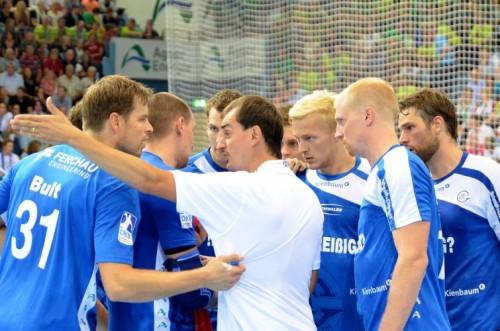 Trainer Kurtagic hatte viel Gesprächsbedarf mit seinen Spielern