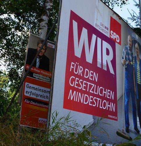 Flosbach im Schatten der SPD!
