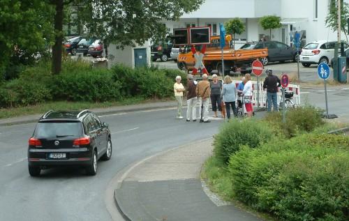 Die Verkehrteilnehmer  müssen sich ab heute umgewöhnen. Foto: Klein