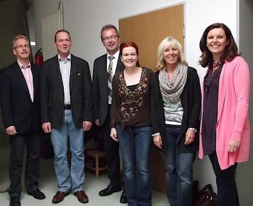 Photo of MdB Katja Dörner beeindruckt von Reichshofer Schülerfirma
