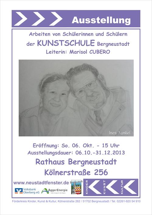 Ausstellung Kunstschule Oktober 2013 Kopie