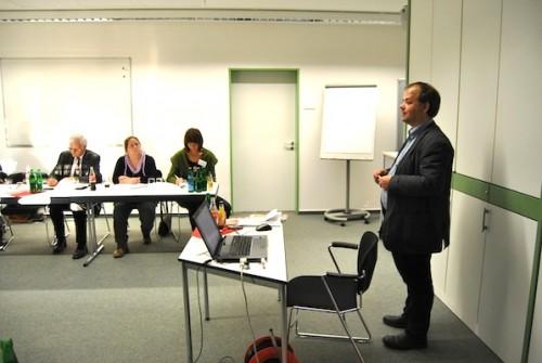 Sven Oliver Rüsche erklärte die Grundlagen der Suchmaschinenoptimierung - Fotos: Johanna Behrendt