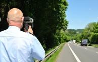 Angekündigte Geschwindigkeitskontrollen in Oberberg