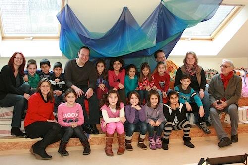 Photo of Dr. Roland Adelmann MdL besucht Kinder- und Jugendtreff