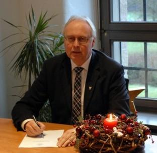 Photo of Weihnachtsgrußwort von Dr. Gero Karthaus
