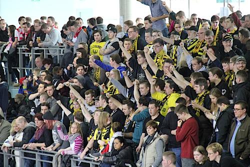 "Photo of Ausschreitungen beim ""Sparhandy-Cup"" (Fotostrecke)"