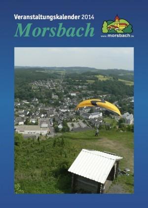 Veranstaltungskalender 2014 Morsbach Titelseite