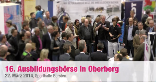 Photo of 16. Ausbildungsbörse Oberberg im Video