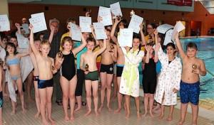 Wipperfürth ermittelt Stadtmeister im Schwimmen