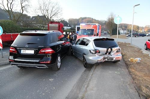 Photo of Folgenreicher Auffahrunfall in Kalsbach