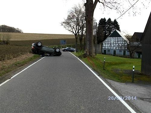 Photo of Dramatischer Unfall endet glimpflich