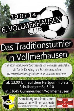 Quelle: Sportfreunde Vollmerhausen