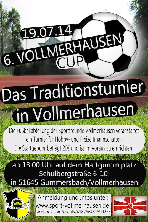 Photo of 6. Vollmerhausen Cup am 19.07.2014